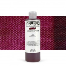 Golden : Fluid : Acrylic Paint : 236ml (8oz) : Quinacridone Violet