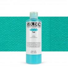 Golden : Fluid : Acrylic Paint : 236ml (8oz) : Teal III