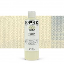 Golden : Fluid : Acrylic Paint : 236ml (8oz) : Titan Buff