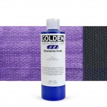 Golden : Fluid : Acrylic Paint : 236ml (8oz) : Ultramarine Violet
