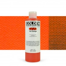 Golden : Fluid : Acrylic Paint : 236ml (8oz) : Vat Orange