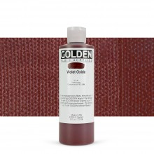Golden : Fluid Acrylic Paint : 236ml (8oz) : Violet Oxide
