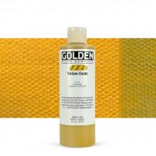 Golden : Fluid : Acrylic Paint : 236ml (8oz) : Yellow Oxide