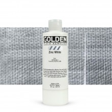Golden : Fluid : Acrylic Paint : 236ml (8oz) : Zinc White