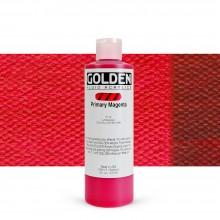 Golden : Fluid Acrylic Paint : 236ml (8oz) : Primary Magenta