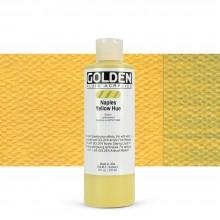 Golden : Fluid Acrylic Paint : 236ml (8oz) : Naples Yellow Hue