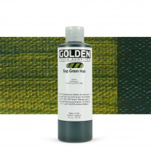 Golden : Fluid : Acrylic Paint : 236ml (8oz) : Sap Green Hue
