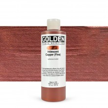 Golden : Fluid : Acrylic Paint : 236ml (8oz) : Copper Fine Iridescent