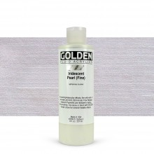 Golden : Fluid Acrylic Paint : 236ml (8oz) : Pearl Fine Iridescent
