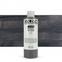 Golden : Fluid Acrylic Paint : 236ml (8oz) : Micaceous Iron Oxide Iridescent