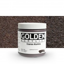 Golden : Heavy Body Acrylic Paint : 236ml : Coarse Alumina