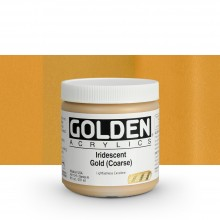 Golden : Heavy Body Acrylic Paint : 236ml : Gold Coarse Iridescent
