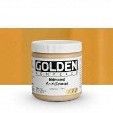 Golden : Heavy Body : Acrylic Paint : 236ml : Gold Coarse Iridescent