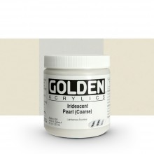 Golden : Heavy Body Acrylic Paint : 236ml : Pearl Coarse Iridescent
