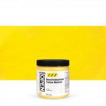 Golden : Open : Slow Drying Acrylic Paint : 236ml : Benzimidazolone Yellow Medium III