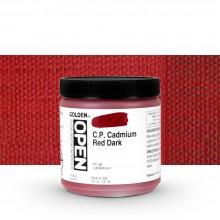 Golden : Open : Slow Drying Acrylic Paint : 236ml : C.P. Cadmium Red Dark IX