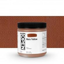 Golden : Open : Slow Drying Acrylic Paint : 236ml : Mars Yellow I