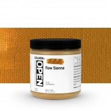 Golden : Open : Slow Drying Acrylic Paint : 236ml : Raw Sienna I