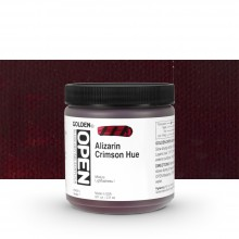 Golden : Open : Slow Drying Acrylic Paint : 236ml : Alizarin Crimson Hue VII
