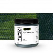 Golden : Open : Slow Drying Acrylic Paint : 236ml : Sap Green Hue IV