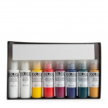 Golden : Fluid : Acrylic Paint : 15ml : Select Set of 8