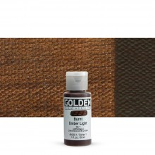 Golden : Fluid Acrylic Paint : 30ml (1oz) : Burnt Umber Light