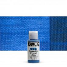 Golden : Fluid Acrylic Paint : 30ml (1oz) : Cerulean Blue Chromium