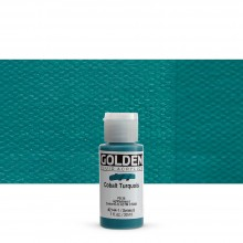 Golden : Fluid Acrylic Paint : 30ml (1oz) : Cobalt Turquoise