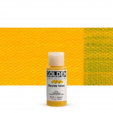 Golden : Fluid Acrylic Paint : 30ml (1oz) : Diarylide Yellow