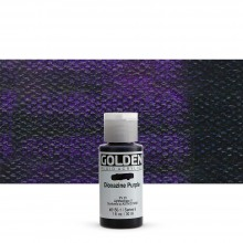Golden : Fluid : Acrylic Paint : 30ml (1oz) : Dioxazine Purple