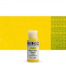 Golden : Fluid : Acrylic Paint : 30ml (1oz) : Hansa Yellow Opaque