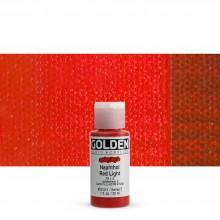 Golden : Fluid : Acrylic Paint : 30ml (1oz) : Naphthol Red Light