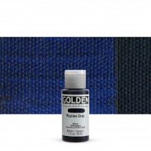 Golden : Fluid : Acrylic Paint : 30ml (1oz) : Paynes Grey