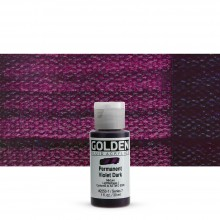 Golden : Fluid Acrylic Paint : 30ml (1oz) : Permanent Violet Dark