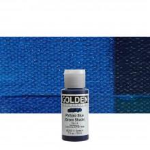 Golden : Fluid : Acrylic Paint : 30ml (1oz) : Phthalo Blue Green Shade