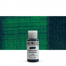 Golden : Fluid Acrylic Paint : 30ml (1oz) : Phthalo Green Blue Shade