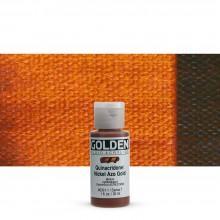 Golden : Fluid : Acrylic Paint : 30ml Fluid : Quinacridone / Nickel Azo Gold