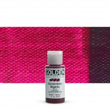 Golden : Fluid Acrylic Paint : 30ml (1oz) : Quinacridone Magenta