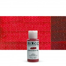 Golden : Fluid Acrylic Paint : 30ml (1oz) : Quinacridone Red