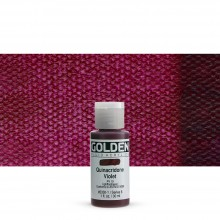 Golden : Fluid Acrylic Paint : 30ml (1oz) : Quinacridone Violet