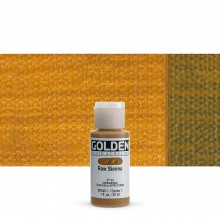 Golden : Fluid : Acrylic Paint : 30ml (1oz) : Raw Sienna