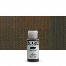 Golden : Fluid : Acrylic Paint : 30ml (1oz) : Raw Umber