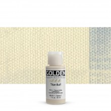 Golden : Fluid : Acrylic Paint : 30ml (1oz) : Titan Buff