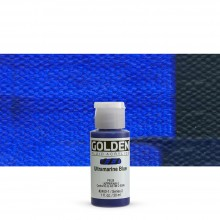 Golden : Fluid : Acrylic Paint : 30ml (1oz) : Ultramarine Blue