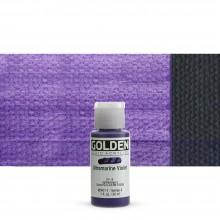 Golden : Fluid : Acrylic Paint : 30ml (1oz) : Ultramarine Violet