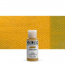 Golden : Fluid Acrylic Paint : 30ml (1oz) : Yellow Oxide