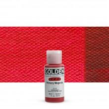 Golden : Fluid Acrylic Paint : 30ml (1oz) : Primary Magenta