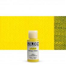 Golden : Fluid : Acrylic Paint : 30ml (1oz) : Primary Yellow