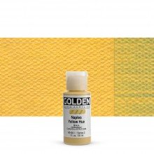 Golden : Fluid Acrylic Paint : 30ml (1oz) : Naples Yellow Hue
