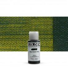 Golden : Fluid Acrylic Paint : 30ml (1oz) : Sap Green Hue
